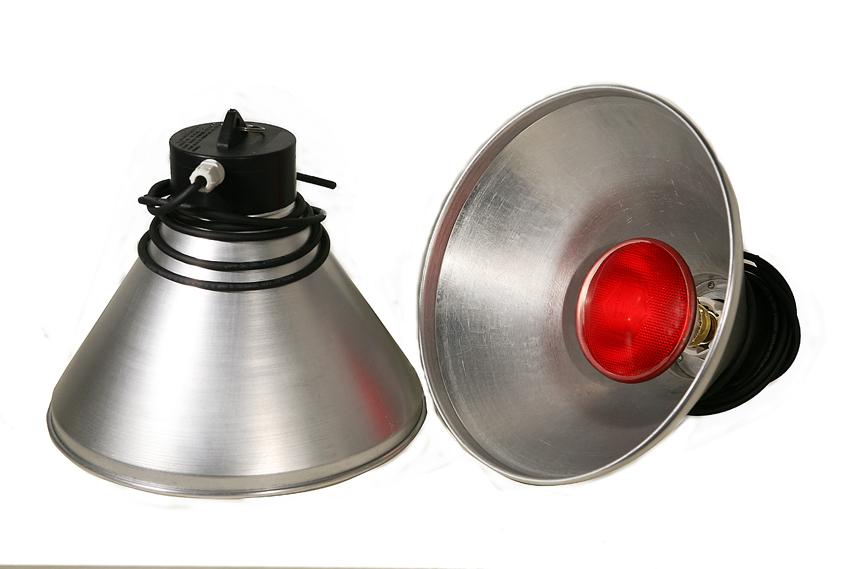 Accessori per suini for Lampada infrarossi riscaldamento pulcini